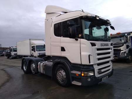 2007 Scania R420 6x2 Midlift