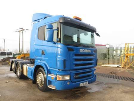 2007 (56) Scania R420 6x2 Rear Lift (11552)
