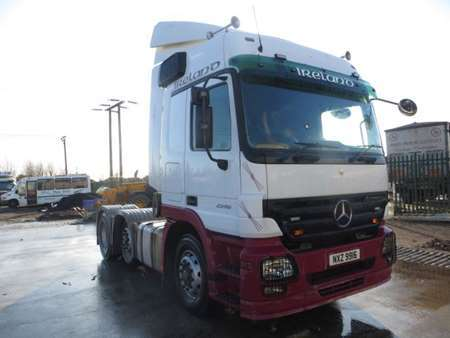 2010 Mercedes Actros 2546 6x2 Midlift (11446)