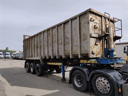 2004 Montracon Tri Axle Scrap Trailer