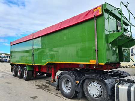 2012 Wilcox 673 Plankside Tipping Trailer