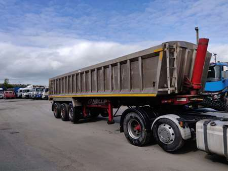 2005 Weightlifter Alloy Aggregate Tipping Trailer