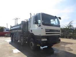 2007 DAF 85CF.360 8x4 Steel Tipper Grab (11937)