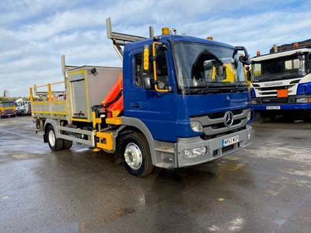 2013 (63) Mercedes Atego 12T 4x2 Dropside