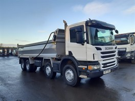 2013 (13) Scania P400 8x4 Steel Tipper