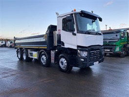 2019 Renault C430 8x4 Demountable Tipper
