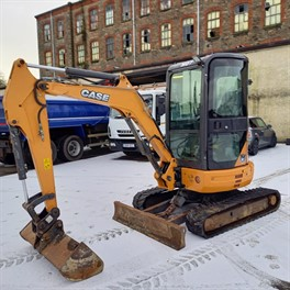 2015 CASE CX30B ZTS Mini Excavator