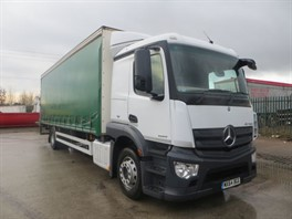 2014 (64) Mercedes Actros 1824 4x2 Curtainsider (12278)