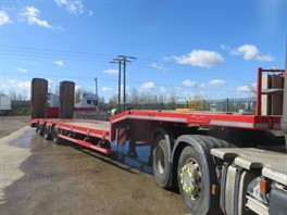 2015 Nooteboom OSDS-48-03 Tri Axle Stepframe Low Loader Trailer (12453)