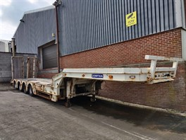 2009 Chieftan SFLL1273 4 Axle Low Loader