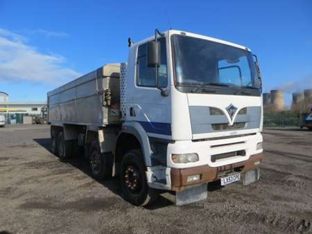 2003 Foden S108R 8x4 Insulated Alloy Tipper (8315)