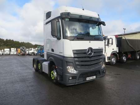 2013 Mercedes Actros 2545 6x2 Tractor Unit