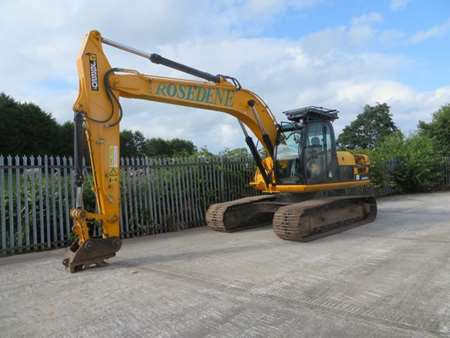 2010 JCB JS220LC Groundworker